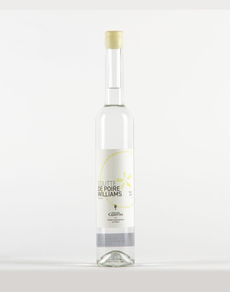 Goutte de Poire Williams «Passerillée» Distillerie Laurent Cazottes 45%