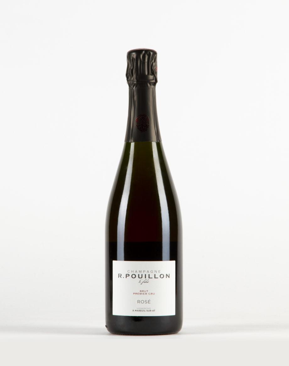 Rosé de macération brut Champagne 1er Cru, Champagne R. Pouillon
