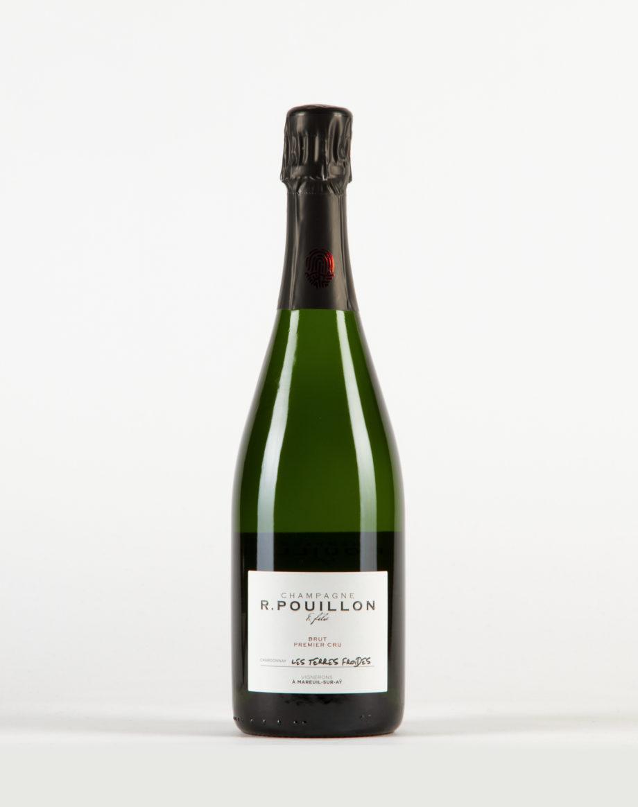 Les Terres Froides extra brut Champagne 1er Cru, Champagne R. Pouillon