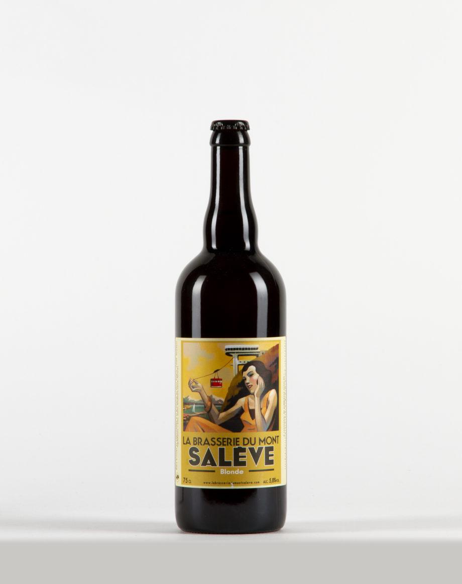 Bière Blonde Brasserie du Mont Salève