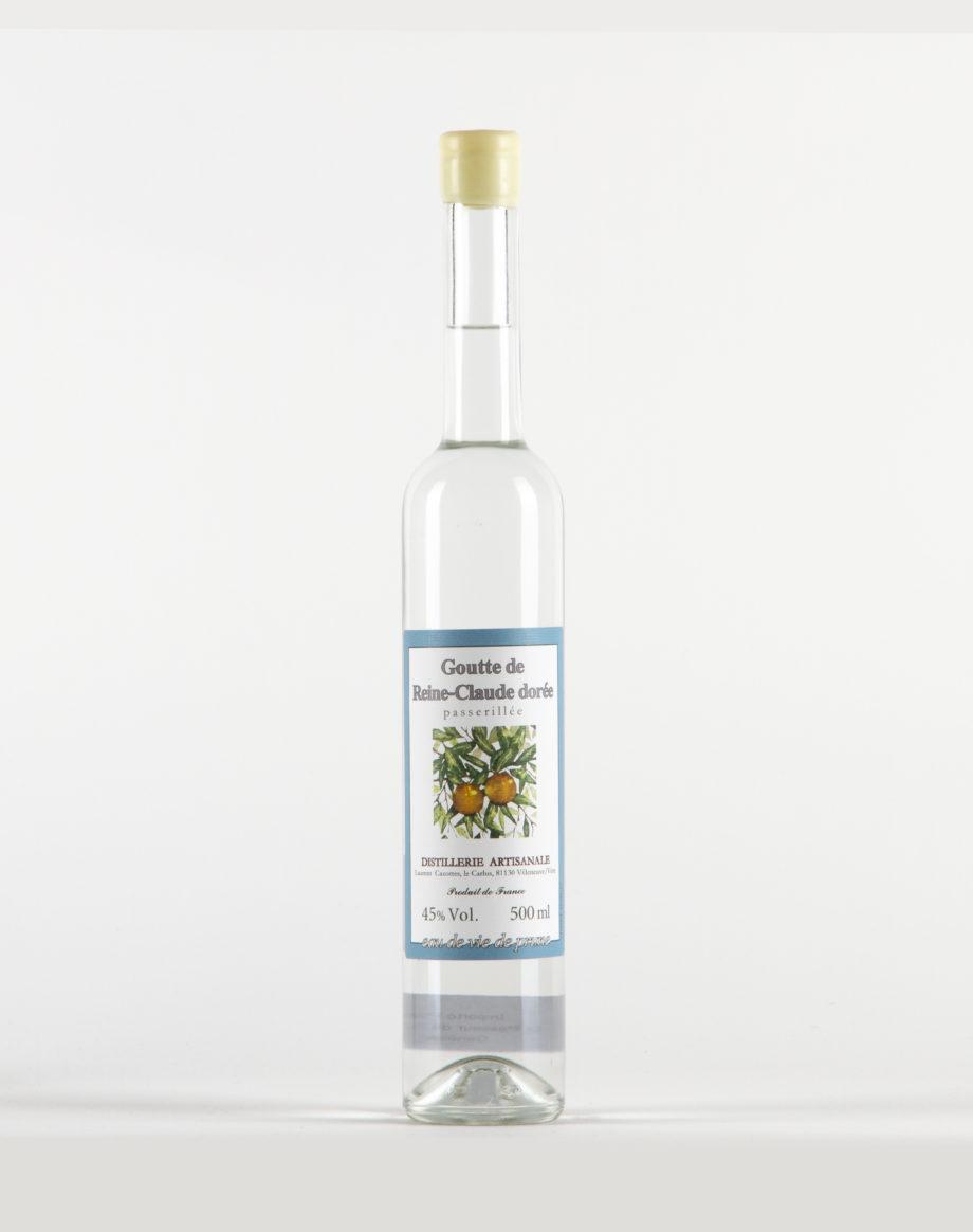 Goutte de Reine Claude Dorée Distillerie Laurent Cazottes 45%