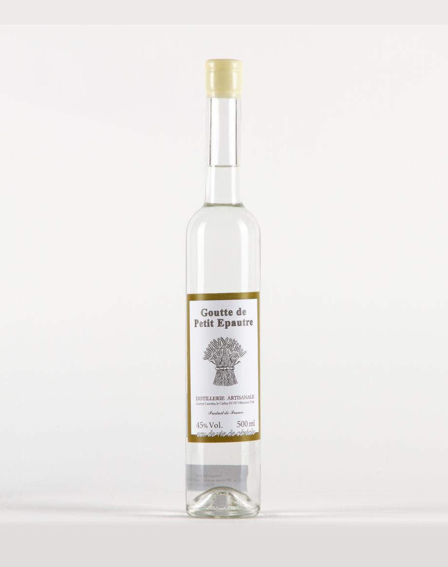 Goutte de Petit épautre Distillerie Laurent Cazottes 45%