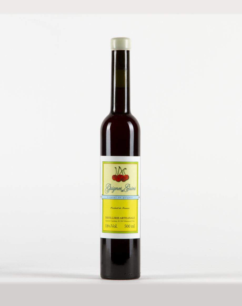 Liqueur de Guignes et Guins Distillerie Laurent Cazottes 18%