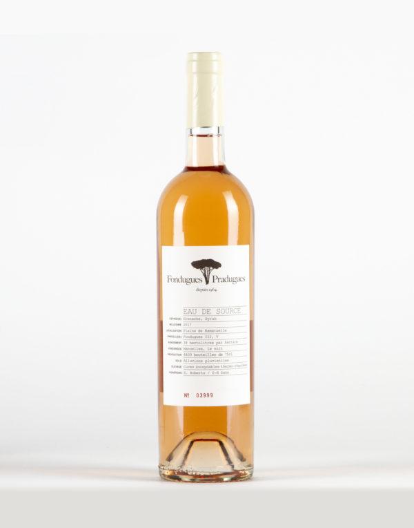 Eau de Source Côtes de Provence, Domaine Fondugues Pradugues