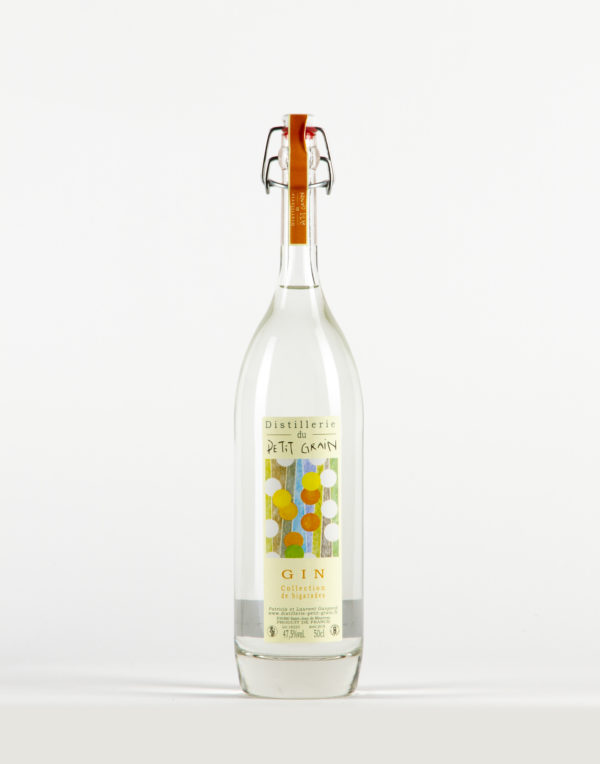 Gin collection de bigarades Distillerie du Petit Grain 47,5%