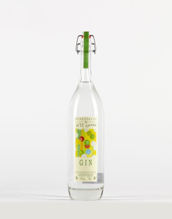 Gin aux agrumes Distillerie du Petit Grain 47%