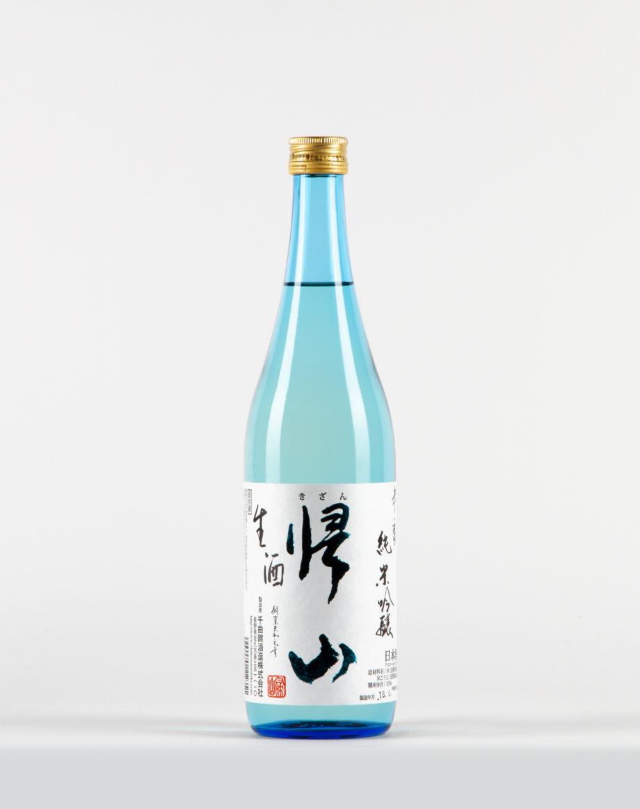Kizan Junmai Ginjo Sake, Chikumanishiki Shuzo