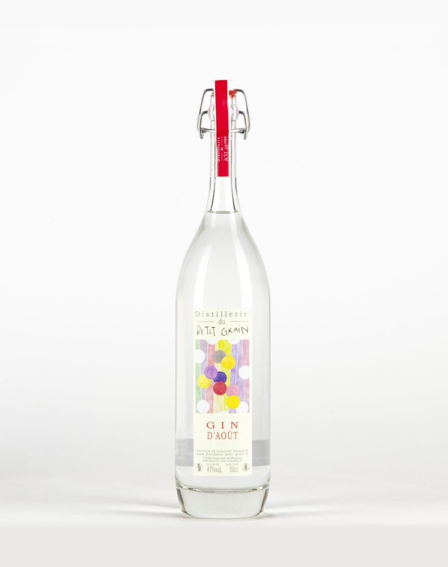 Gin d'août Distillerie du Petit Grain 46%