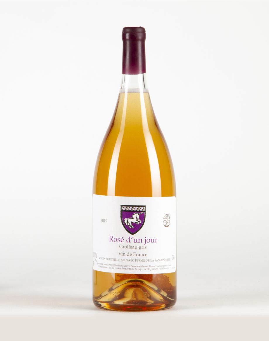 Rosé d'un Jour magnum Vin de France, Ferme de la Sansonnière