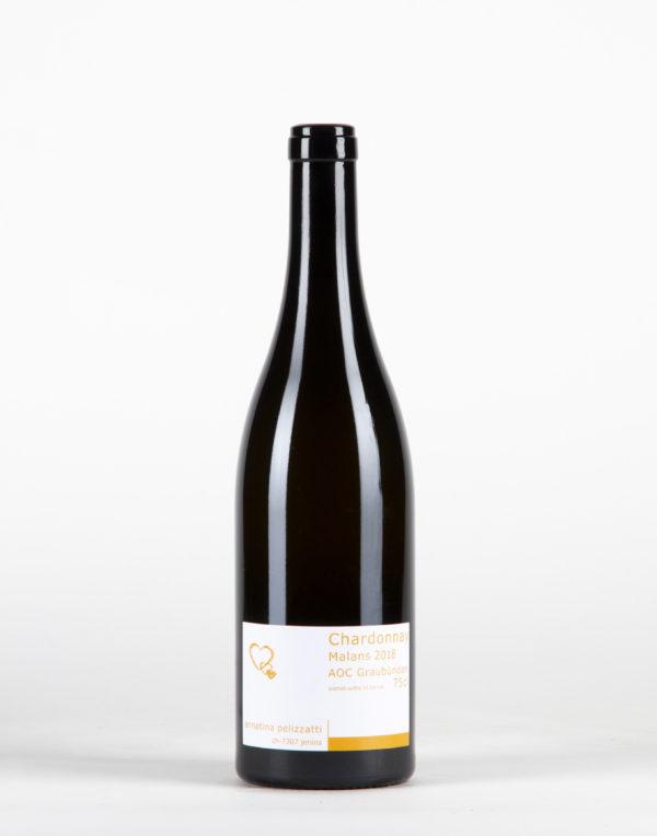 Chardonnay Malans Graubünden, Weinbau Annatina Pelizzatti