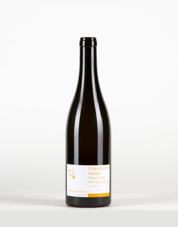 Chardonnay Halde Fläsch Graubünden, Weinbau Annatina Pelizzatti