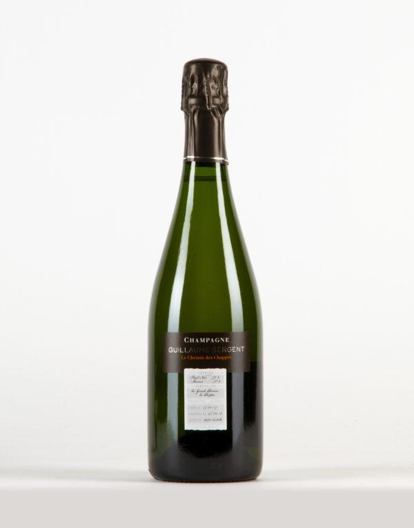 Le Chemin des Chappes Extra Brut NV18 Champagne 1er Cru, Guillaume Sergent