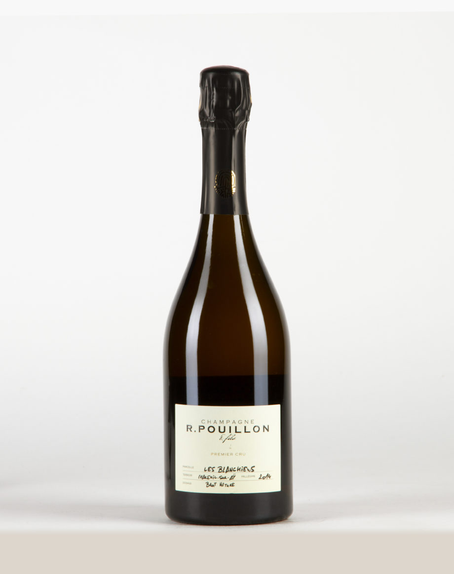 Les Blanchiens brut nature Champagne 1er Cru, Champagne R. Pouillon