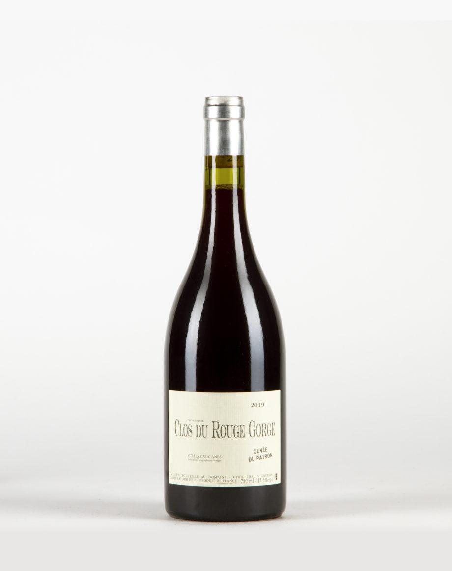 Cuvée du patron Côtes Catalanes, Clos du Rouge Gorge