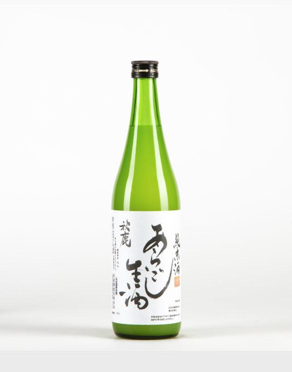 Akishika Aragoshi Nigori Saké, Akishika Shuzo
