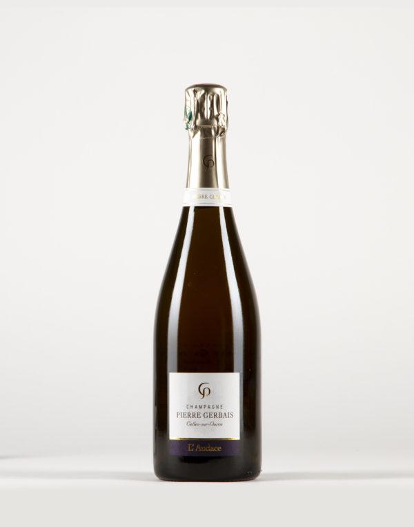L'Audace ( Pinot Noir) Champagne, Champagne Pierre Gerbais