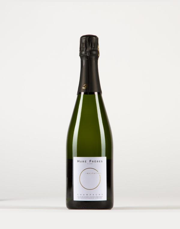 Invitation - Brut Champagne, Huré Frères