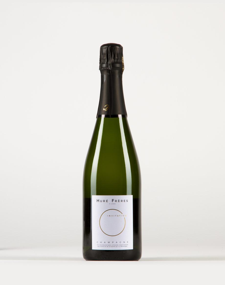 Invitation – Brut Champagne, Huré Frères