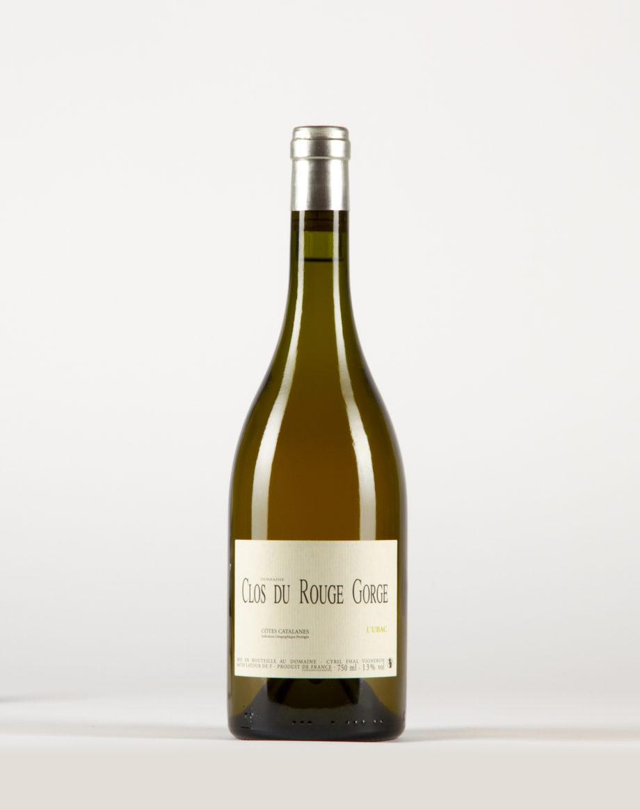 Ubac blanc Côtes Catalanes, Clos du Rouge Gorge