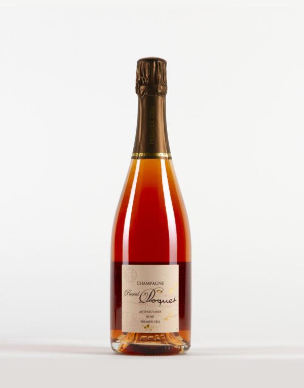 """1er cru """"Anthocyanes Rosé"""" Champagne 1er Cru, Pascal Doquet"""