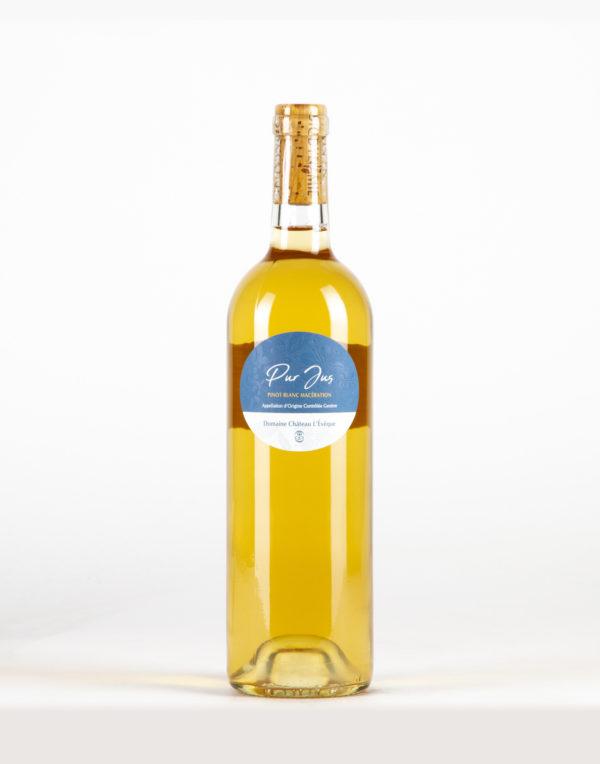 """Pinot Blanc """"Pur jus"""" Genève, Domaine Château L'Evèque"""