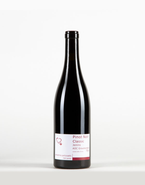 Pinot Noir Classic Jenins Graubünden, Weinbau Annatina Pelizzatti