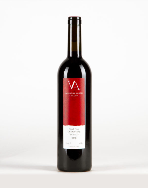 "Pinot Noir ""Champ Dury"" Valais, Domaine Valentina Andrei"